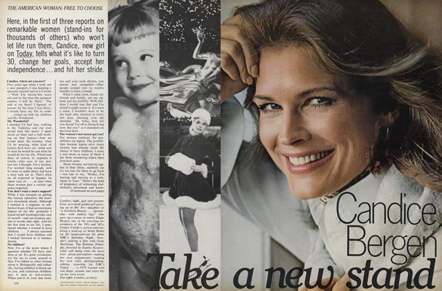 Take a New Stand: Candice Bergen