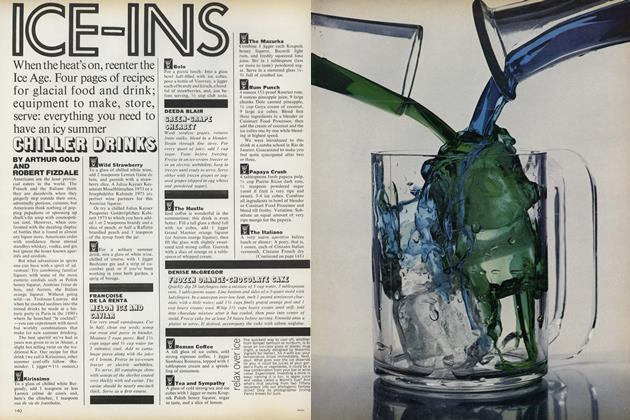 Ice-Ins: Chiller Drinks