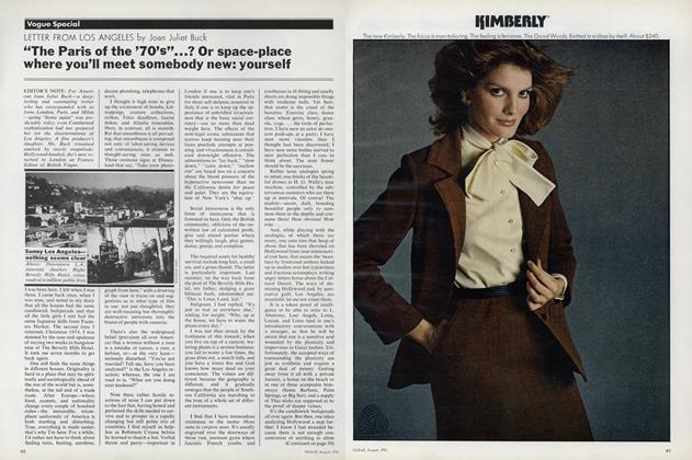 Article Preview: Letter from Los Angeles, August 1976 | Vogue