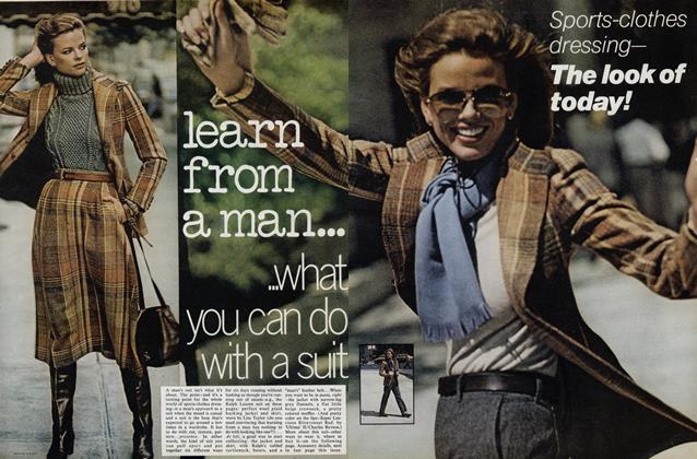 Sports-Clothes Dressing—The Look of Today: Learn from a Man