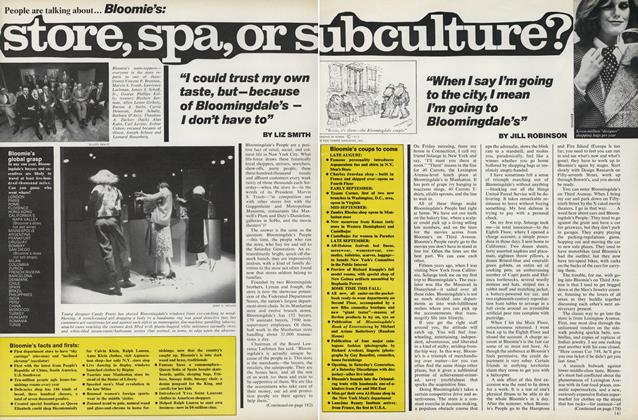 Article Preview: Bloomie's: Store, Spa, or Subculture?, August 1976 | Vogue