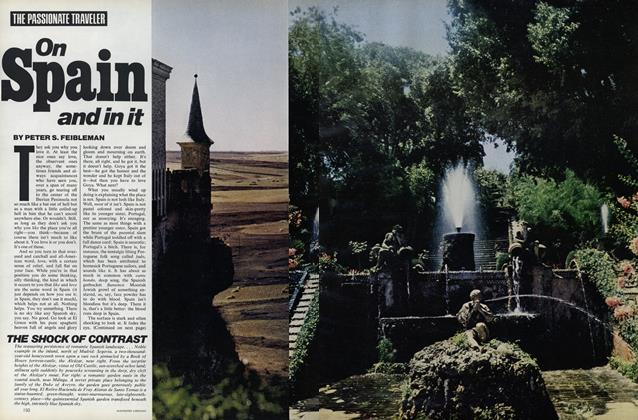 Article Preview: On Spain and In It, August 1976 | Vogue