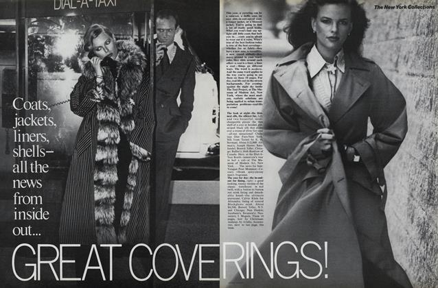The New York Collections: Great Coverings!