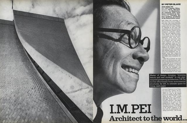 I.M. Pei Architect To the World.../I.M. Pei Designs for His Own Life