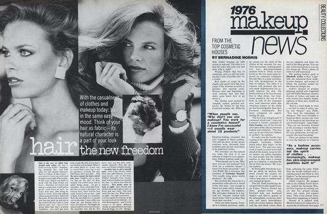 1976 Makeup News: from the Top Cosmetic Houses
