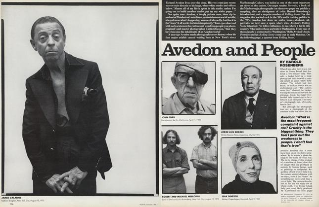 Avedon and People