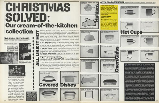 Christmas Solved: Our Cream-of-the-kitchen Collection