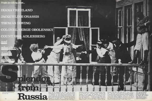 Article Preview: Splendor from Russia, December 1976 | Vogue