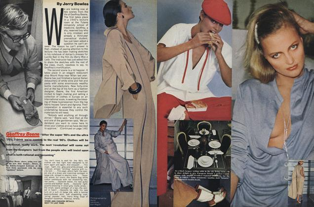 Article Preview: Geoffrey Beene, January 1977 | Vogue