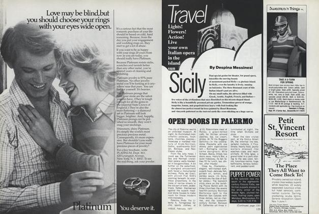 Article Preview: Sicily, February 1977 | Vogue