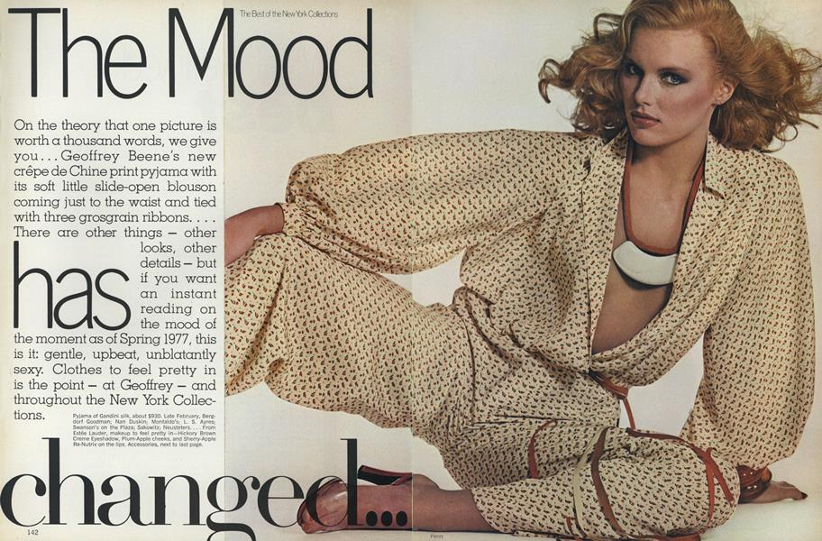 The Best of the New York Collections: The Mood Has Changed
