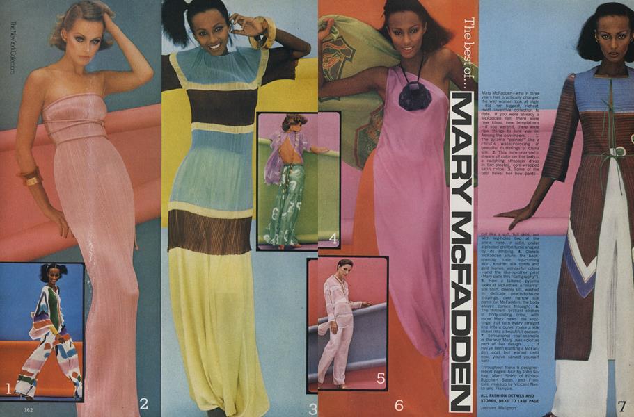 The New York Collections: The Best of Mary McFadden, Oscar de la Renta, John Anthony, Holly's Harp, Rafael