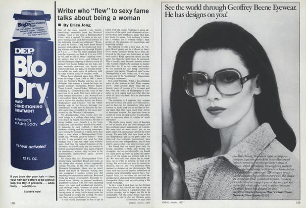 "Article Preview: Writer Who ""Flew"" To Sexy Fame Talks About Being a Woman, March 1977 