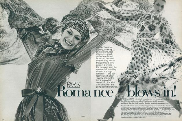 Article Preview: Paris: Romance Blows In!, April 1977 | Vogue