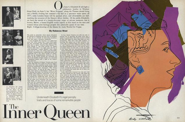 Article Preview: The Inner Queen, May 1977 | Vogue