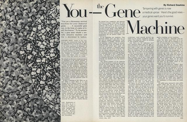 Article Preview: You—The Gene Machine, May 1977 | Vogue