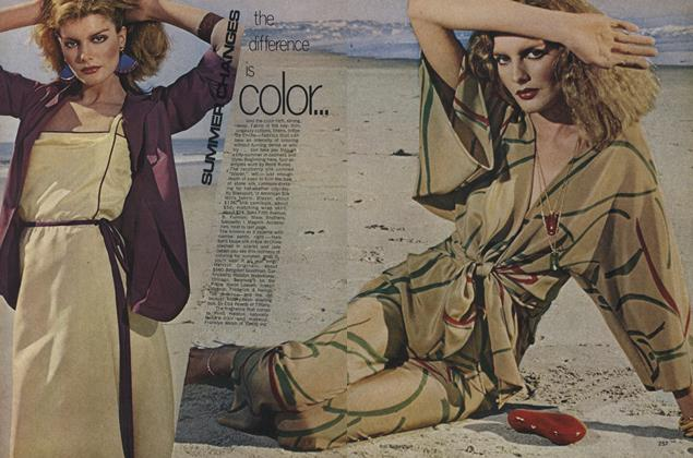 Article Preview: Summer Changes, May 1977 | Vogue