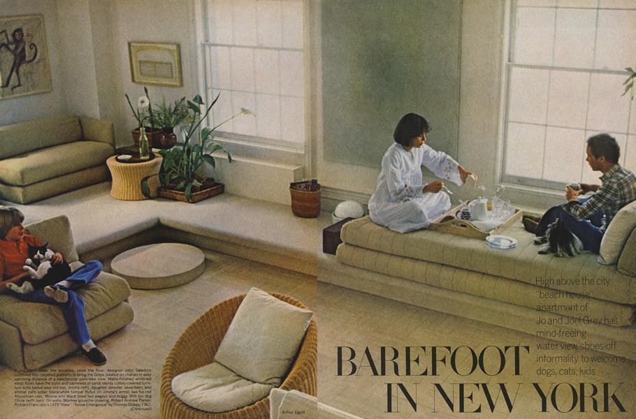 Barefoot in New York