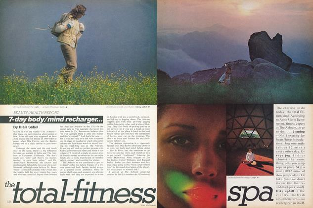Article Preview: The Total-fitness Spa, July 1977 | Vogue