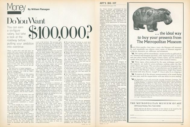Article Preview: Do You Want $100,000?, July 1977 | Vogue
