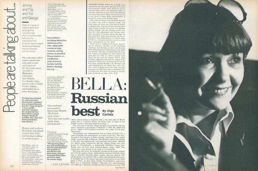Bella: Russian Beset