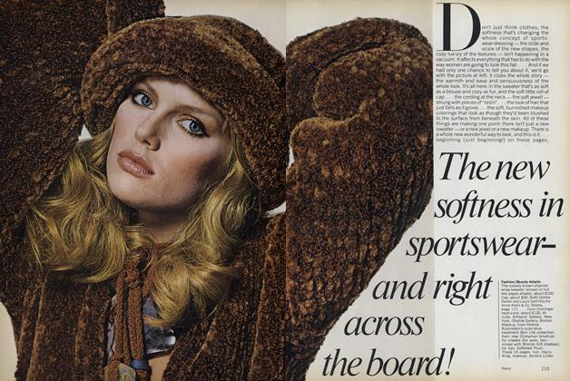 Article Preview: The New Softness in Sportswear—and Right Across the Board, August 1977 | Vogue
