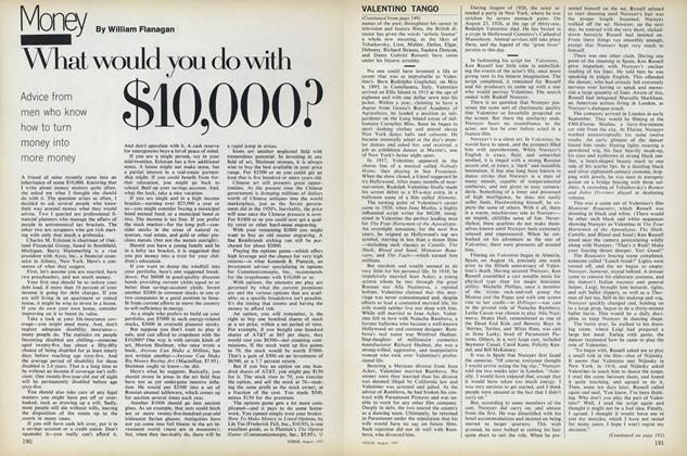Article Preview: What Would You Do with $10,000?, August 1977 | Vogue
