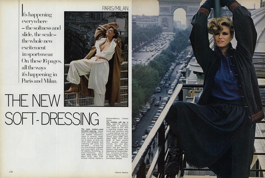 Paris/Milan: The New Soft-dressing
