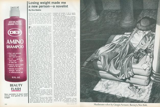 Article Preview: Losing Weight Made Me a New Person—a Novelist, September 1977 | Vogue