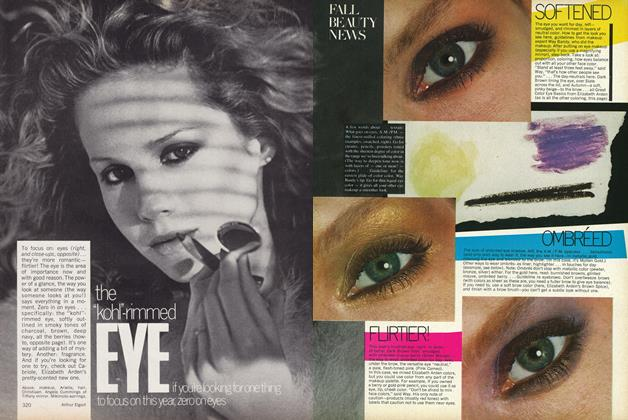 Article Preview: Fall Beauty News: Softened, Ombreed, Flirter! Better-than-ever Caring for Skin., September 1977 | Vogue