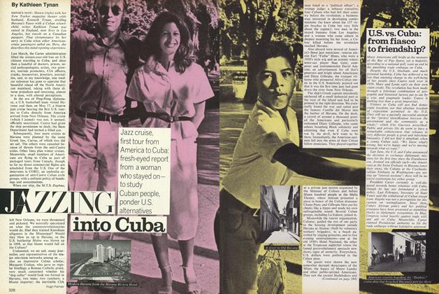 Article Preview: Jazzing into Cuba, September 1977 | Vogue