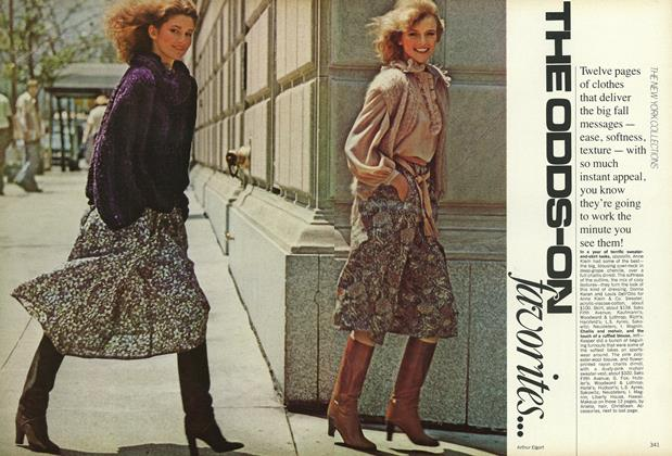 Article Preview: The New York Collections: The Odds-On Favorites, September 1977 | Vogue