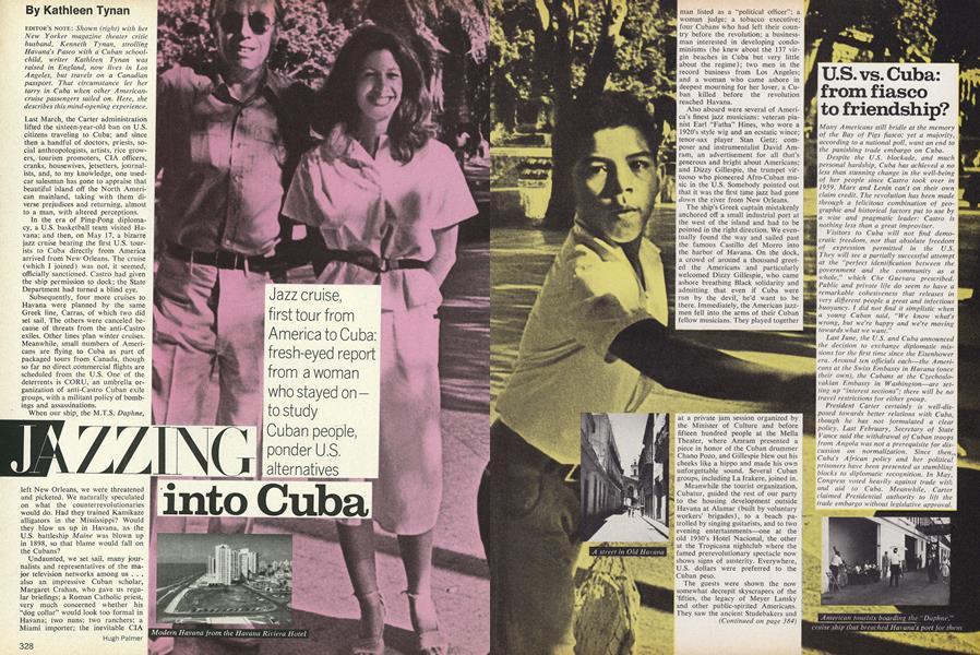 Jazzing into Cuba