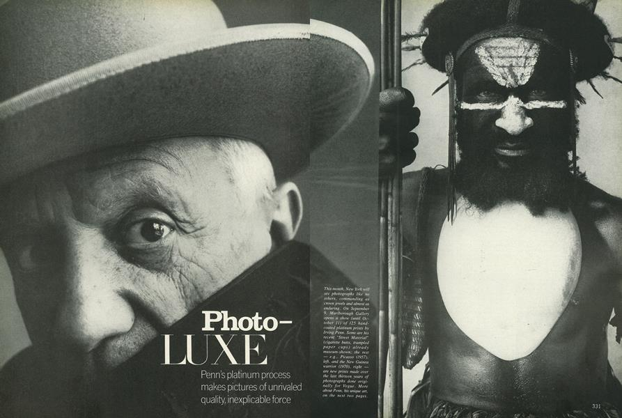 Irving Penn: Time is a Luxury