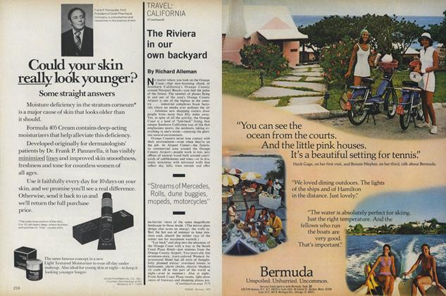 Article Preview: California: The Riviera in Our Own Backyard, October 1977 | Vogue