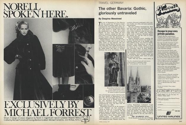Article Preview: Travel: Germany. The other Bavaria: Gothic, Gloriously Untraveled, October 1977 | Vogue
