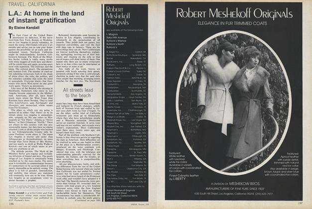Article Preview: California. L.A.: At Home in the Land of Instant Gratification, October 1977 | Vogue