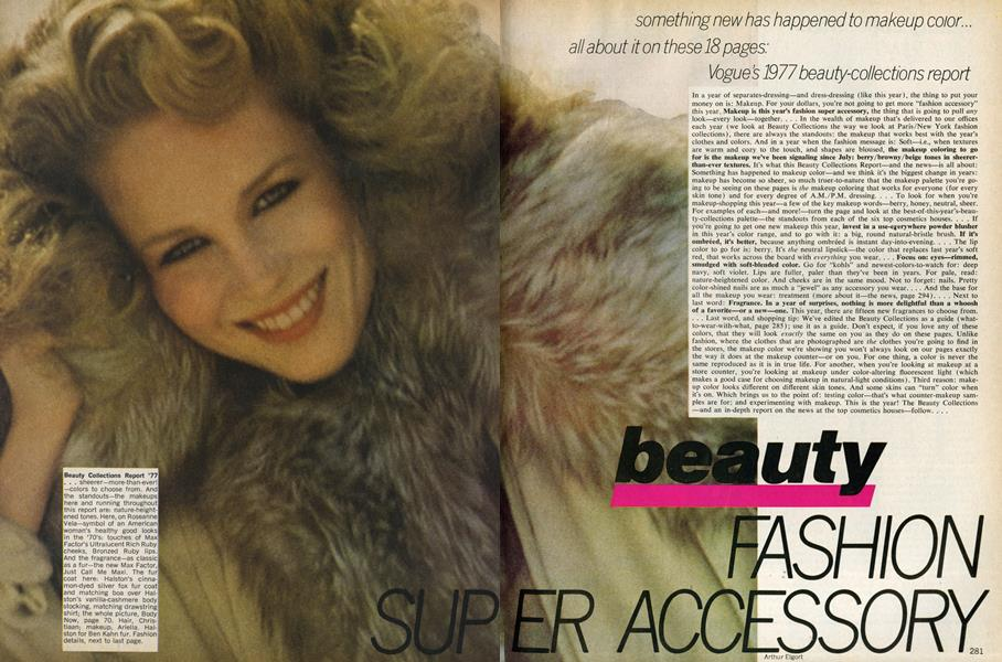 Beauty Collections Report '77: Beauty Fashion Super Accessory
