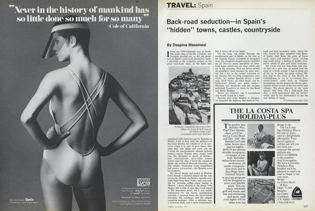 Article Preview: Travel: Spain, November 1977 | Vogue