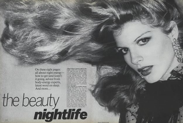 Article Preview: The Beauty Nightlife, November 1977 | Vogue