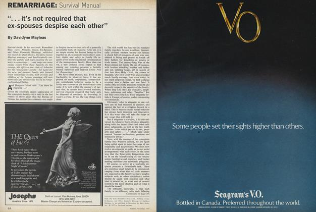 Article Preview: Remarriage: Survival Manual, November 1977 | Vogue