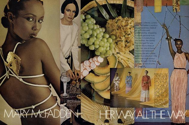 Article Preview: Mary McFadden—Her Way, All the Way, December 1977 | Vogue