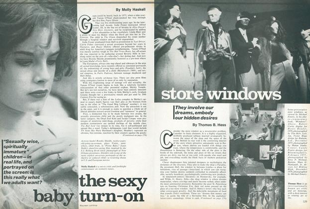 Article Preview: The Sexy Baby Turn-on, January 1978 | Vogue
