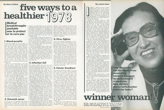 Article Preview: Winner Woman! Dr. Rosalyn S. Yalow, January 1978 | Vogue