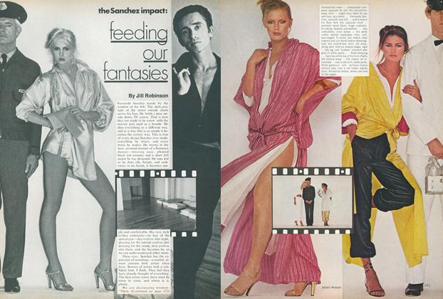 Article Preview: The Sanchez impact: Feeding Our Fantasies, January 1978 | Vogue