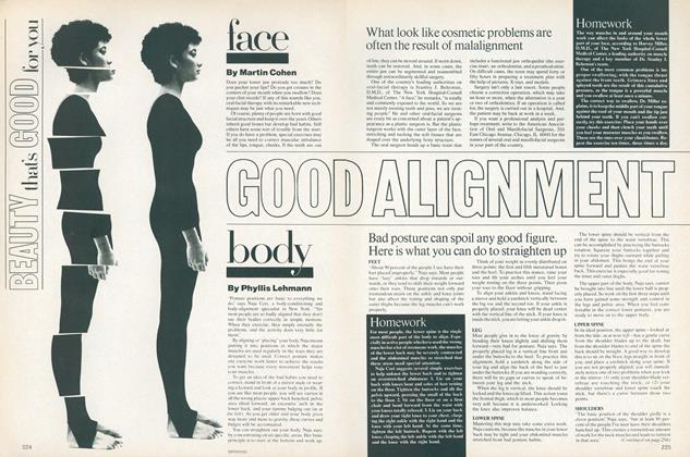 Beauty That's Good for You: Good Alignment—Body
