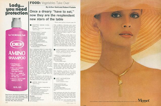 Article Preview: Vegetables Take Over, February 1978 | Vogue
