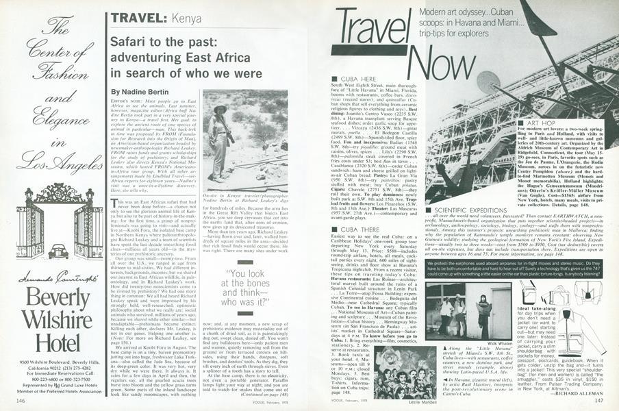 Kenya: Safari to the Past