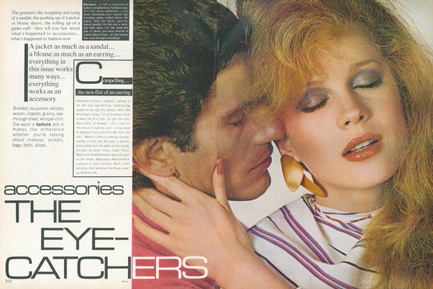 Article Preview: Accessories: The Eye Catchers, March 1978 | Vogue