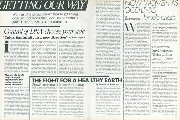 Article Preview: Now: Women as God-Links-Female Priests, March 1978 | Vogue